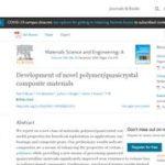Development of Novel Polymer/Quasicrystal Composite Materials.