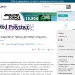 Studies in the properties of nylon 6–glass fiber composites.