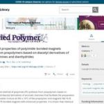 Structure and Properties of Polyimide Bonded Magnets Processed From Prepolymers Based on Diacetyl Derivatives of Aromatic Diamines and Dianhydrides.