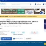 Rheological Behavior of Aqueous Polyurethane Dispersions: Effects of Solid Content, Degree of Neutralization, Chain Extension, and Temperature.